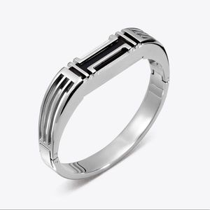 Tori Burch NWT Fitbit Flex 2 bracelet Silver NEW
